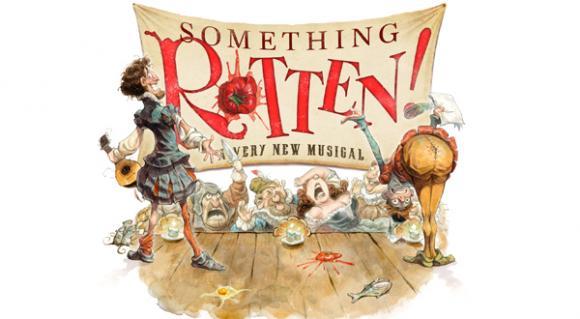 Something Rotten! at Sarofim Hall at The Hobby Center