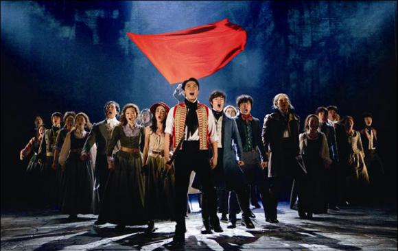 Les Miserables at Sarofim Hall at The Hobby Center