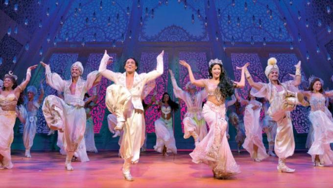 Disney's Aladdin at Sarofim Hall at The Hobby Center