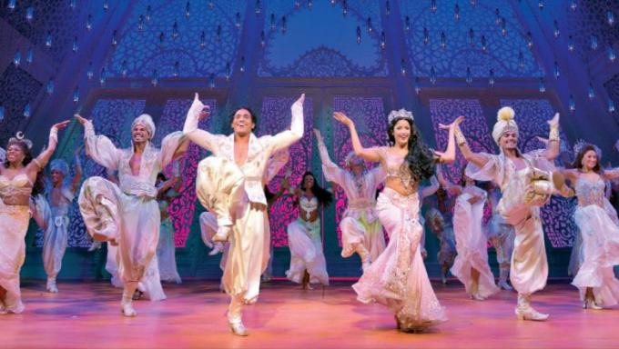 Disney's Aladdin at Sarofim Hall at The Hobby Center