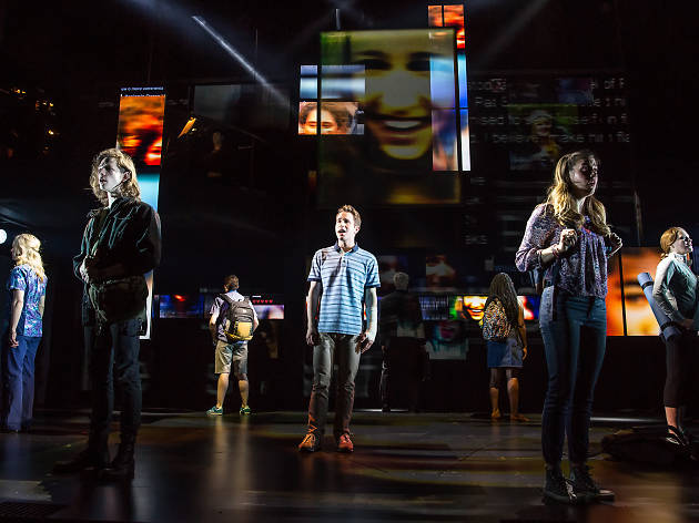 Dear Evan Hansen at Sarofim Hall at The Hobby Center