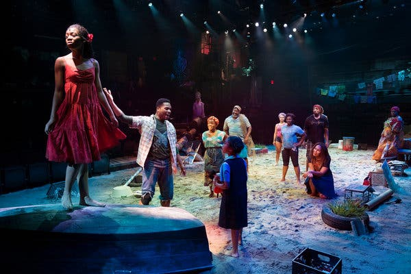 Once On This Island at Sarofim Hall at The Hobby Center