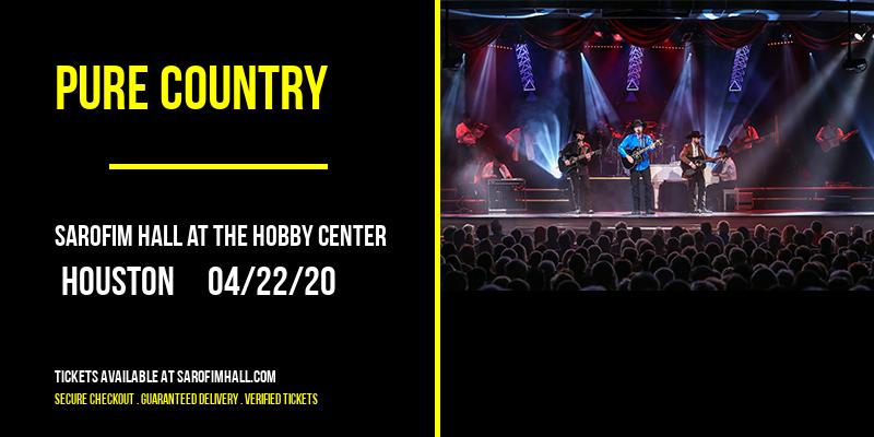 Pure Country at Sarofim Hall at The Hobby Center