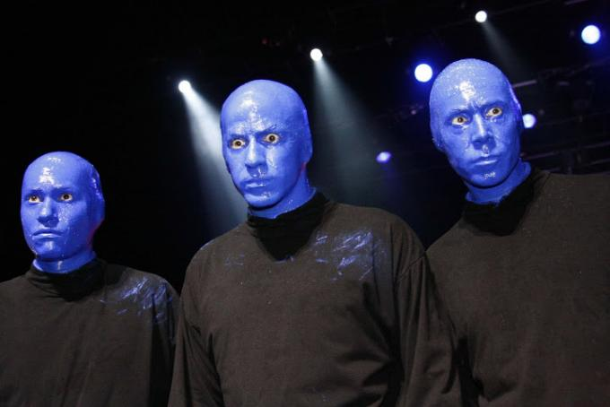 Blue Man Group at Sarofim Hall at The Hobby Center