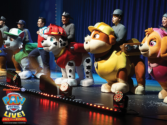 Paw Patrol Live [CANCELLED] [POSTPONED] at Sarofim Hall at The Hobby Center