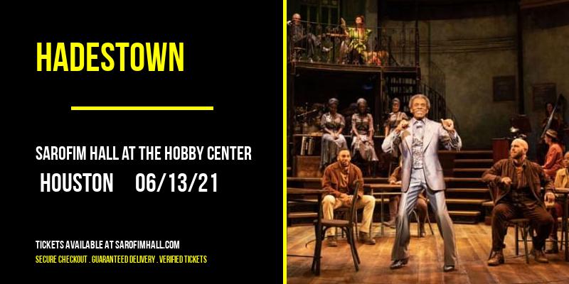 Hadestown at Sarofim Hall at The Hobby Center