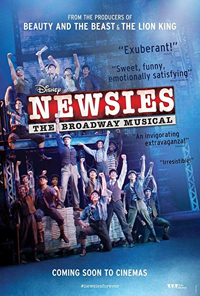 Newsies - The Musical at Sarofim Hall at The Hobby Center