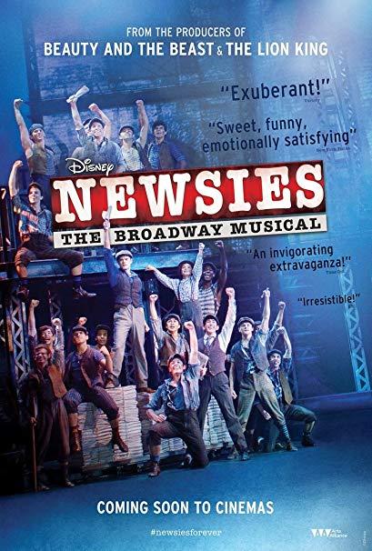Newsies - The Musical at Sarofim Hall at The Hobby Center