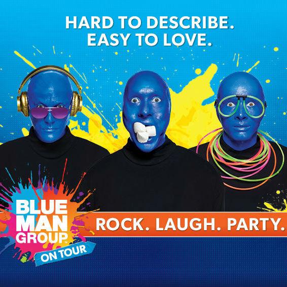 Blue Man Group [CANCELLED] at Sarofim Hall at The Hobby Center